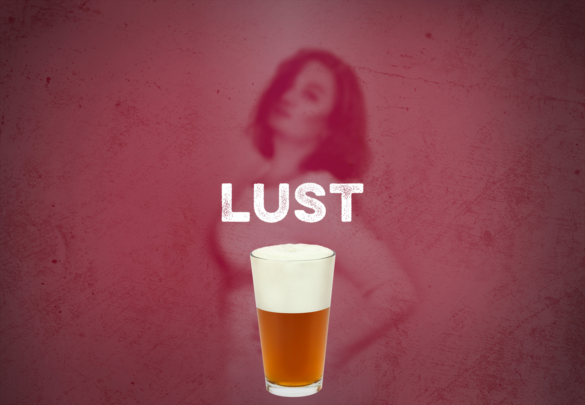 picture of cherry wheat beer, Lust