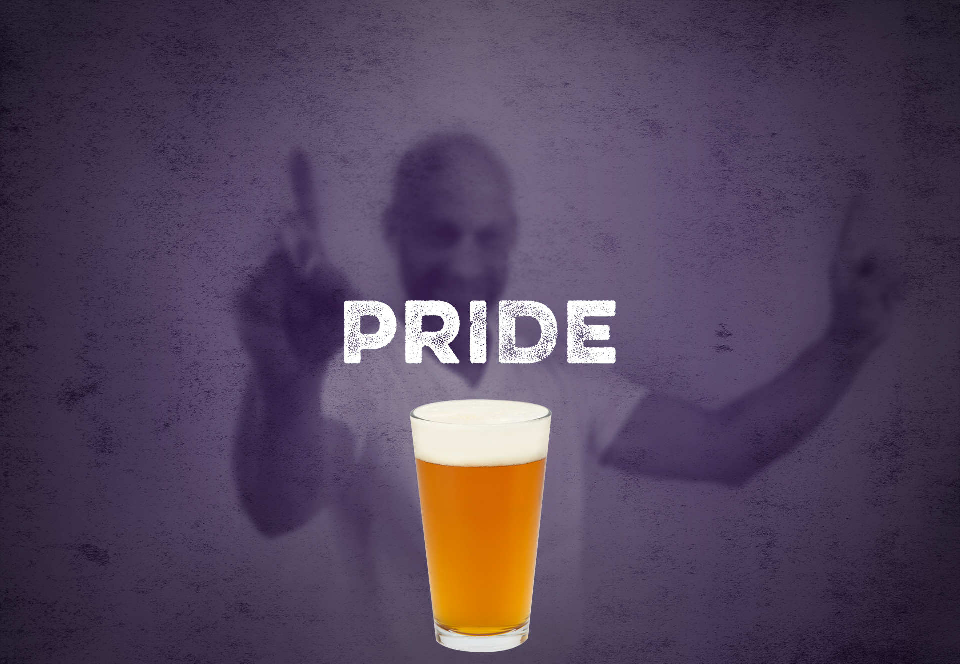 picture of a pint of Pride pilsner