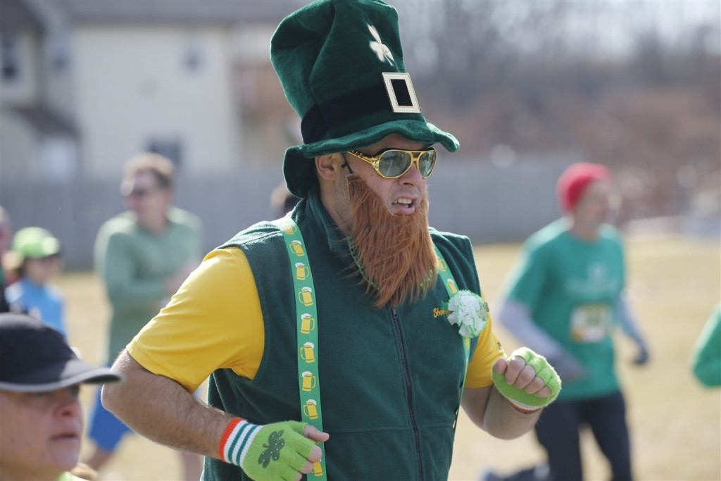 Old First Ward Shamrock Run, south Buffalo, March 12, 2016 photo cred to the Buffalo News